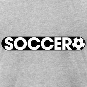 Play Soccer T-Shirts - Men's T-Shirt by American Apparel