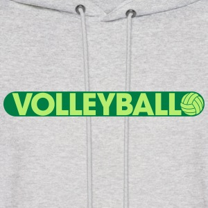 Play Volleyball Hoodies - Men's Hoodie
