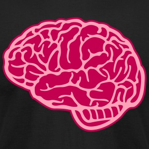 medicine motifs: the brain T-Shirts - Men's T-Shirt by American Apparel