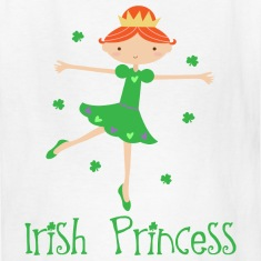 Irish Princess St Patrick's Day Kids' Shirts