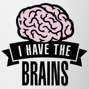 I have the brains Bottles & Mugs - Coffee/Tea Mug