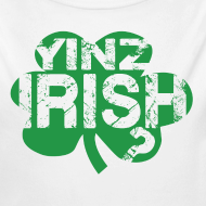 Design ~ Yinz Irish? Baby - Green Cutout