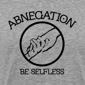 Abnegation - Men's Premium T-Shirt