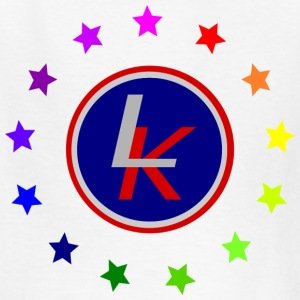 Liberty Kid logo with rainbow Kids' Shirts - Kids' T-Shirt
