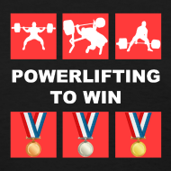 Design ~ Women's PowerliftingToWin T-Shirt