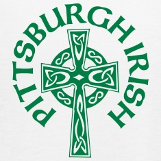 Pittsburgh Irish Celtic Cross apparel Clothing Tanks
