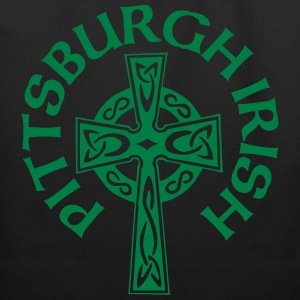 Pittsburgh Irish Celtic Cross apparel Clothing Bags & backpacks - Eco-Friendly Cotton Tote