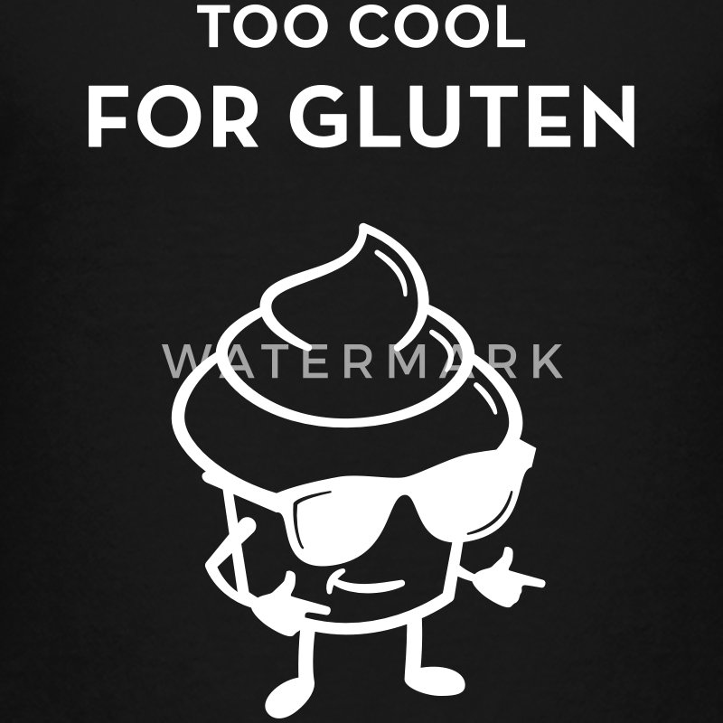 Too Cool For Gluten - Kids' Premium T-Shirt