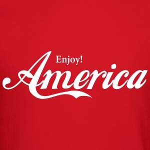 Enjoy America Long Sleeve Shirts - Crewneck Sweatshirt