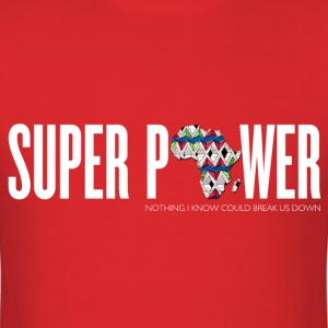 Africa Super Power Men's T-Shirt - Men's T-Shirt
