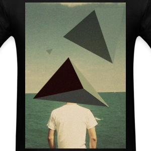 Triangles on the Beach T-Shirts - Men's T-Shirt