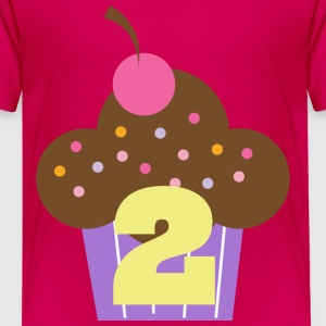 2nd Birthday Cupcake Kids' Shirts - Kids' Premium T-Shirt