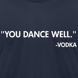 Vodka T-Shirts - Men's T-Shirt by American Apparel