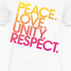 Peace Love Unity Respect (PLUR) T-Shirts