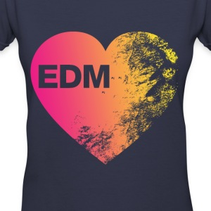 EDM lover - Women's V-Neck T-Shirt