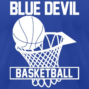 Blue Devils T-Shirts - Men's T-Shirt by American Apparel