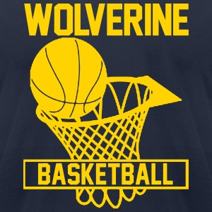 Wolverines T-Shirts - Men's T-Shirt by American Apparel