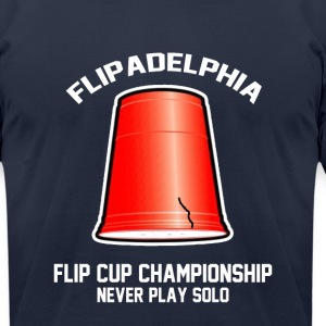 Flipadelphia T-Shirts - Men's T-Shirt by American Apparel