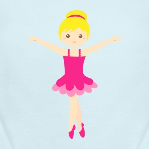cute ballerina in pink tutu Baby & Toddler Shirts - Baby Short Sleeve One Piece