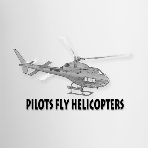 Pilots fly helicopters Accessories - Contrast Coffee Mug