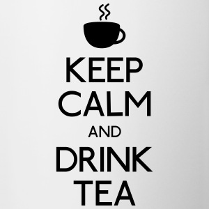 keep calm drink tea Bottles & Mugs - Coffee/Tea Mug