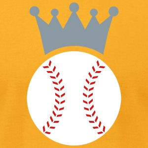 Baseball King T-Shirts - Men's T-Shirt by American Apparel
