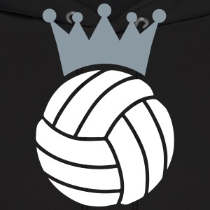 Volleyball King Hoodies - Men's Hoodie