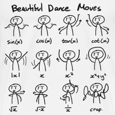 Beautiful Math Dance Moves T-Shirts