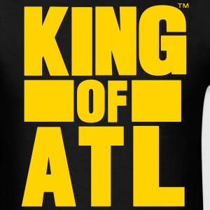 KING OF ATL (ATLANTA) T-Shirts - Men's T-Shirt