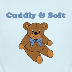 Teddy Bear for Boys - Short Sleeve Baby Bodysuit