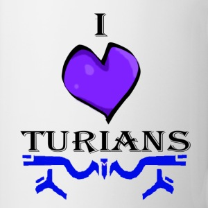I Heart Turians Bottles & Mugs - Coffee/Tea Mug