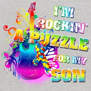 I'm Rockin' A Puzzle For My Son Sweatshirts - Kids' Hoodie