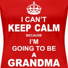 ....i am going to be a Grandma Women's T-Shirts