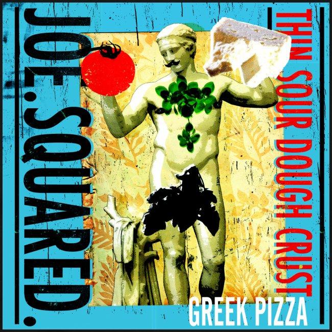 greek pizza men's t-shirt