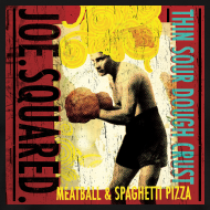 Design ~ meatball and spaghetti pizza men's t-shirt