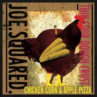 Design ~ chicken, corn and apple pizza men's t-shirt