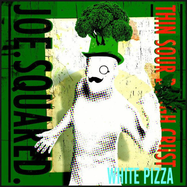 white pizza men's t-shirt