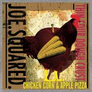 Design ~ chicken, corn and apple pizza women's shirt