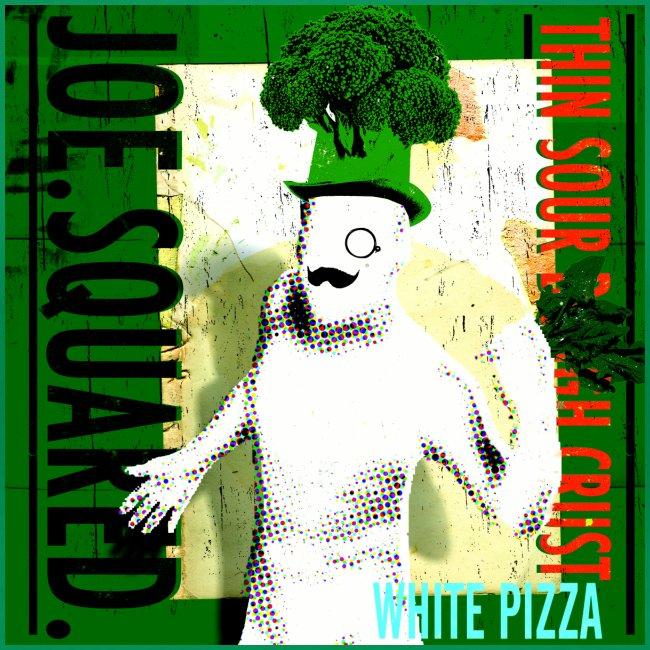 white pizza women's shirt