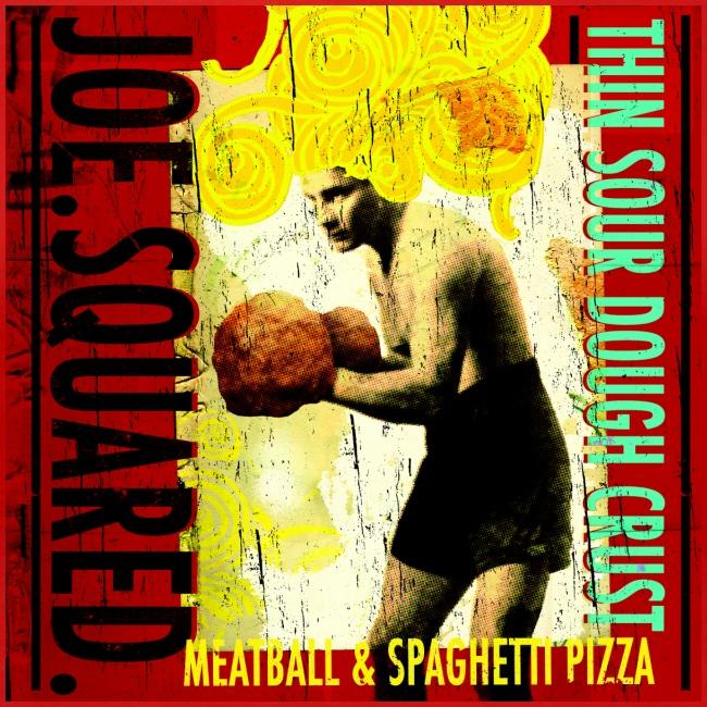 meatball and spaghetti pizza women's shirt