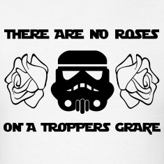 THERE ARE NO ROSES ON  A TROPPERS GRAVE