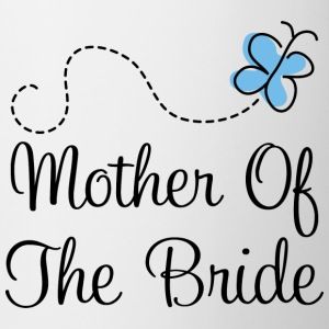 Mother of the Bride (Blue Wedding) Bottles & Mugs - Coffee/Tea Mug