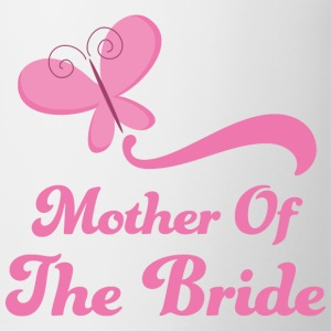 Mother of the Bride (Wedding Butterfly) Bottles & Mugs - Coffee/Tea Mug