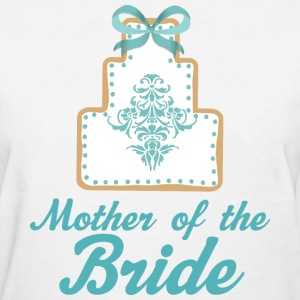 Mother of the Bride (Wedding Cake) Women's T-Shirts - Women's T-Shirt
