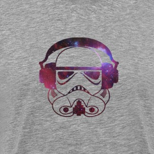 Storm Trooper DJ Spaced Out T-Shirts - Men's Premium T-Shirt
