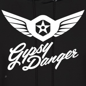 Pacific Rim: Gypsy Danger Hoodie (Design on Front) - Men's Hoodie