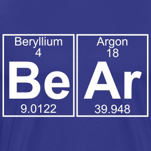 Be-Ar (bear) - Full T-Shirts - Men's Premium T-Shirt