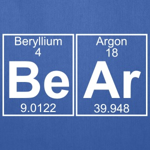 Be-Ar (bear) - Full Bags & backpacks - Tote Bag