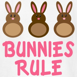 Easter Bunnies Rule T-shirt - Kids' T-Shirt