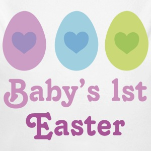 Baby's 1st Easter Baby Shirt - Long Sleeve Baby Bodysuit